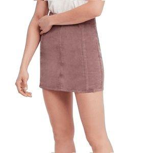 Free People 6 Birchwood Mini Skirt 6AQ10